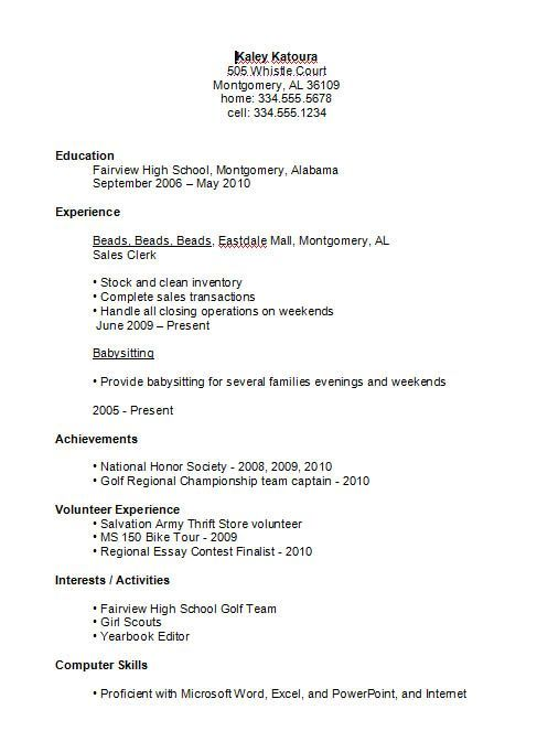 high school student resume example job examples first schooler sample engagement manager Resume High Schooler High School Resume Sample