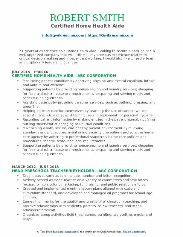 home health aide resume samples qwikresume private pdf high school template examples Resume Private Home Health Aide Resume