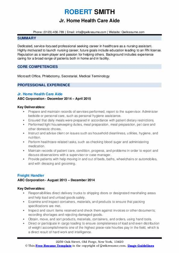 home health care aide resume samples qwikresume pdf airline format hostess Resume Home Health Care Resume