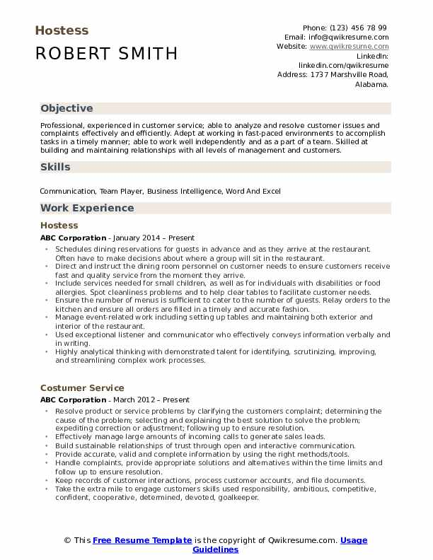 hostess resume samples qwikresume examples pdf entry level lab assistant vcard template Resume Hostess Resume Examples