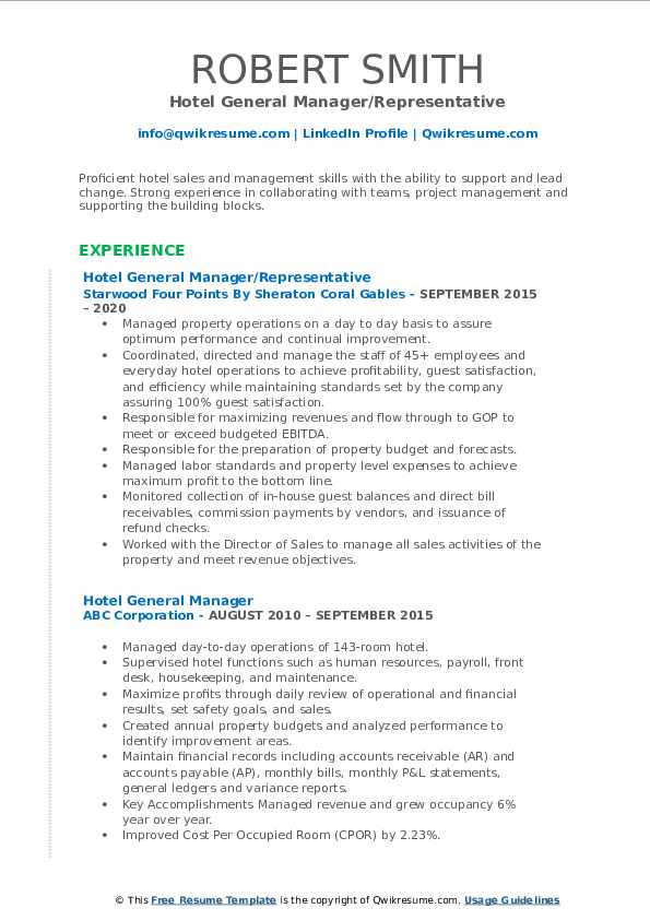 hotel general manager resume samples qwikresume marriott pdf associate marriage and Resume Hotel General Manager Resume Marriott