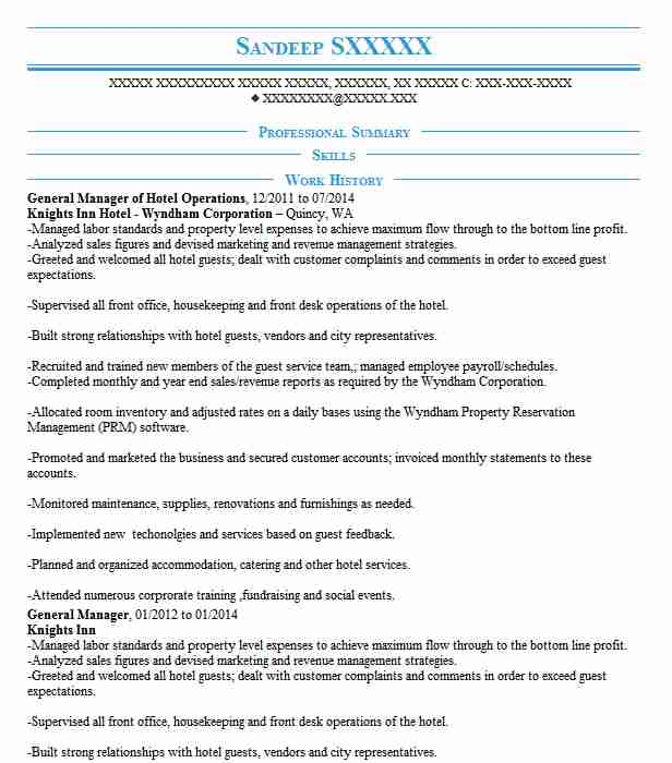 hotel operations manager resume example duane street naples general marriott instant Resume Hotel General Manager Resume Marriott