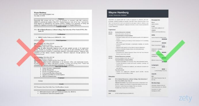 human resources hr assistant resume sample skills template example3 title your house Resume Human Resources Assistant Resume Template