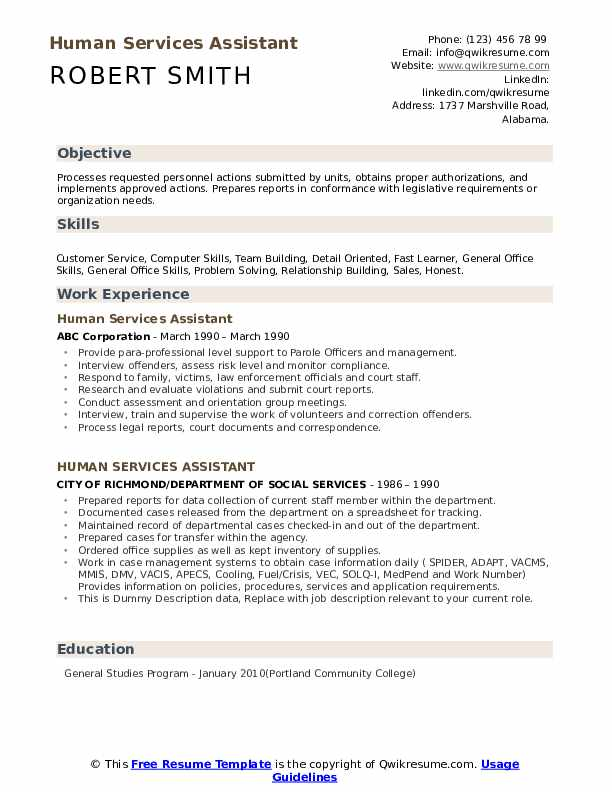 human services assistant resume samples qwikresume examples pdf professional kitchener Resume Human Services Resume Examples