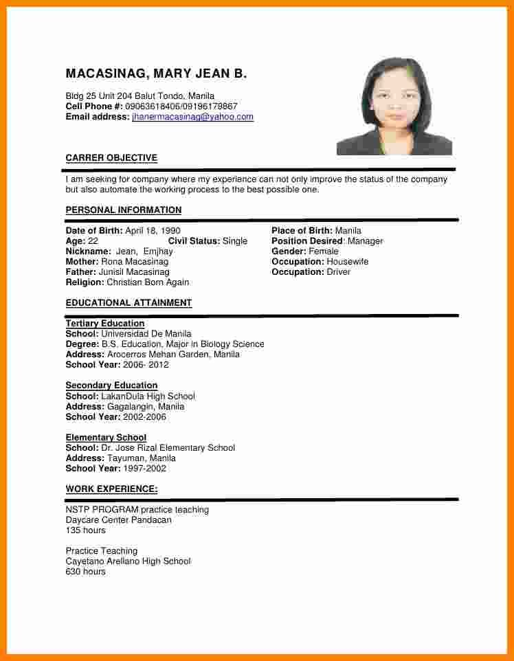 image result for cv format job resume examples sample and human resources skills social Resume Resume Format And Examples