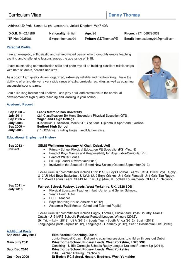 image result for rugby cv template college football coaches coach quotes player resume Resume Football Player Resume Sample