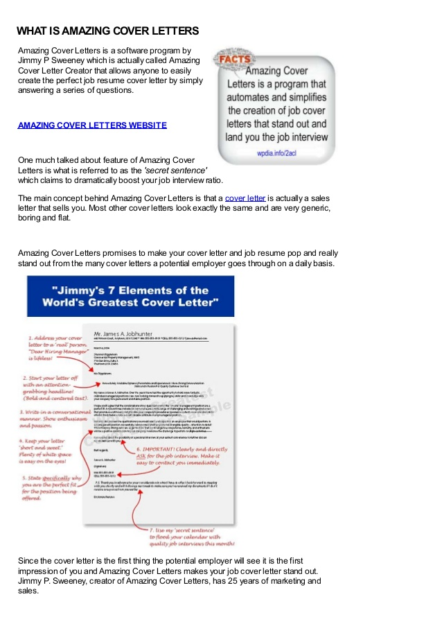 images jimmy sweeney cover letter examples best resume amazing creator letters Resume Jimmy Sweeney Amazing Resume Creator