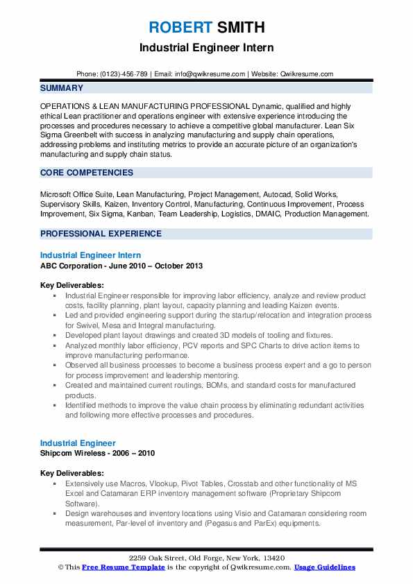 industrial engineer resume samples qwikresume pdf entry level staff accountant examples Resume Industrial Engineer Resume