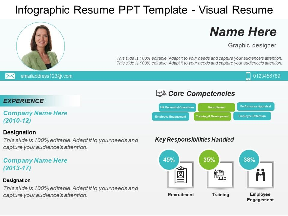 infographic resume template visual images gallery powerpoint slide show presentation Resume Infographic Resume Timeline