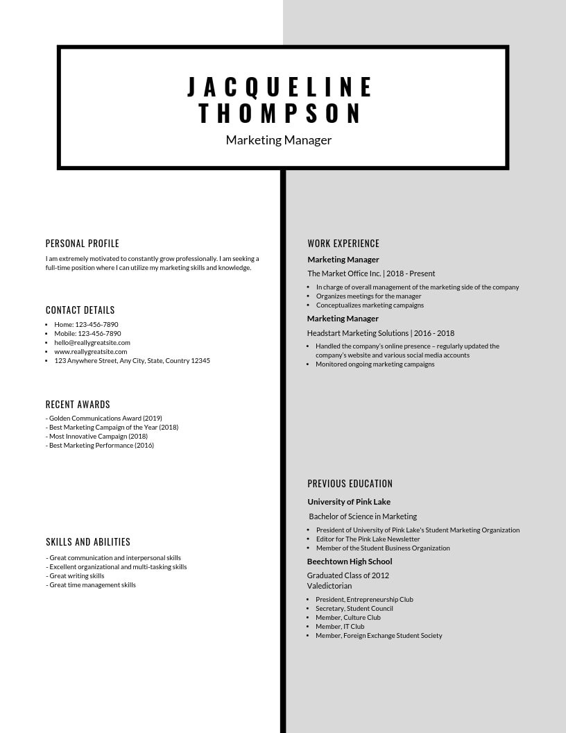 inspiring resume designs to learn from canva skill headings for black and minimal simple Resume Skill Headings For Resume