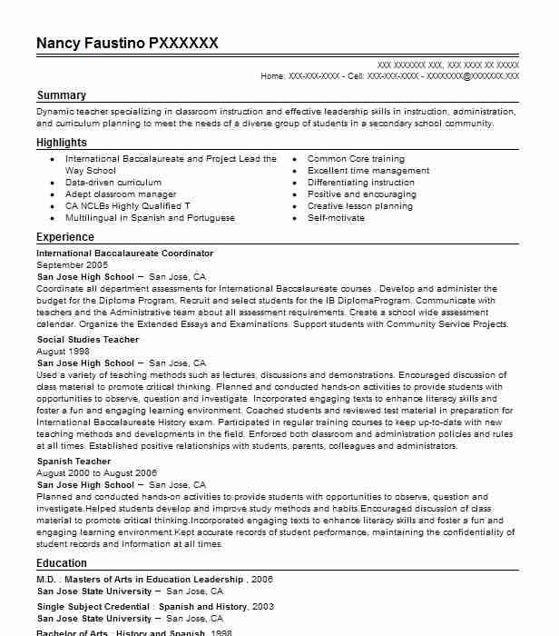 international baccalaureate resume examples best biology email message sap le builder Resume Biology Resume Examples
