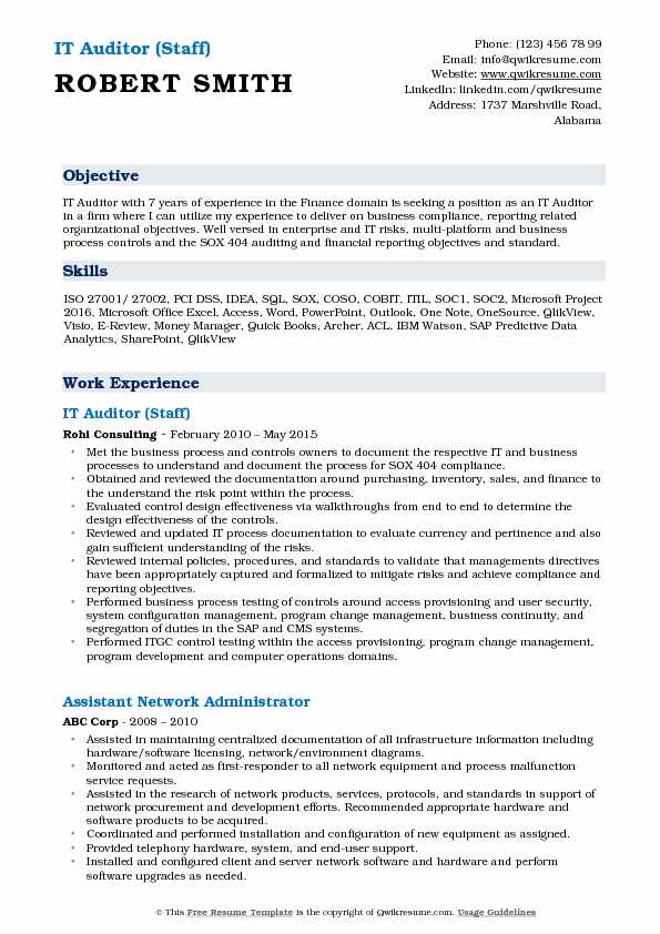 it auditor resume samples qwikresume career objective for pdf skillsusa writing services Resume Career Objective For Auditor Resume