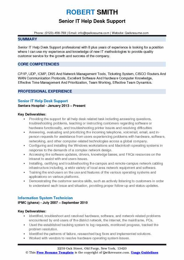 it help desk support resume samples qwikresume end user pdf about entry level cyber Resume End User Support Resume