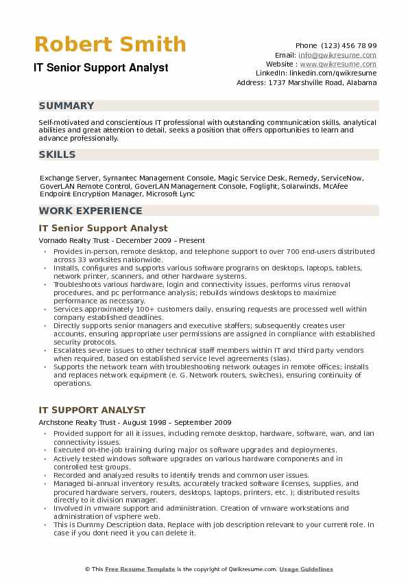 it support analyst resume samples qwikresume system pdf director of special events call Resume System Support Analyst Resume