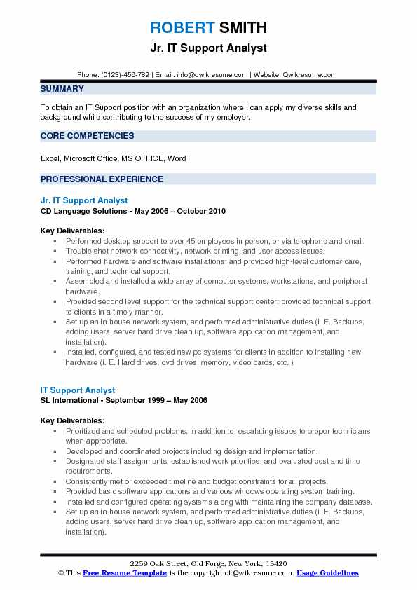 it support analyst resume samples qwikresume system pdf objectives for hotel and Resume System Support Analyst Resume