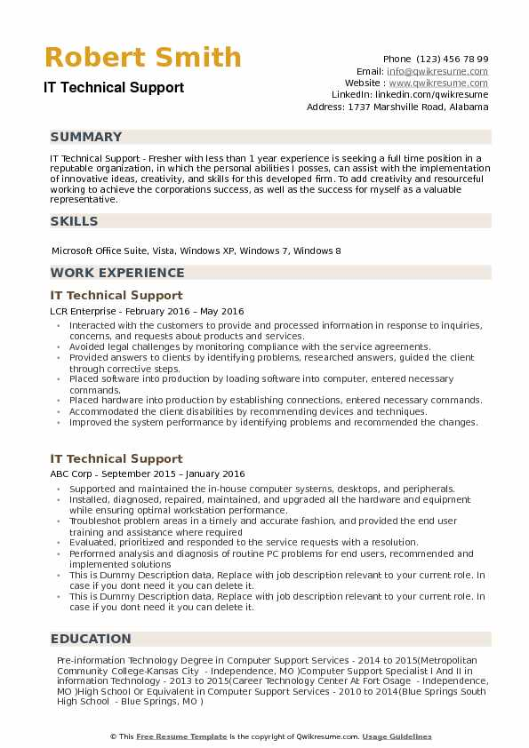 it technical support resume samples qwikresume customer service pdf updated format Resume Technical Customer Service Resume