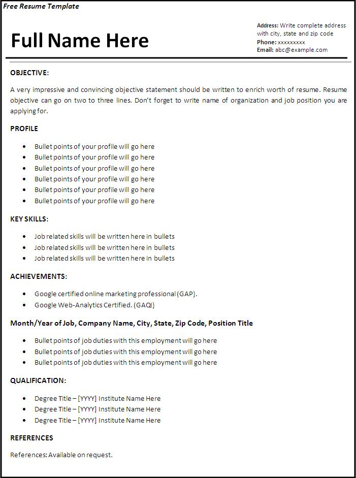 job resume format free word templates apply for template independent consultant samples Resume Apply For Job Resume Format