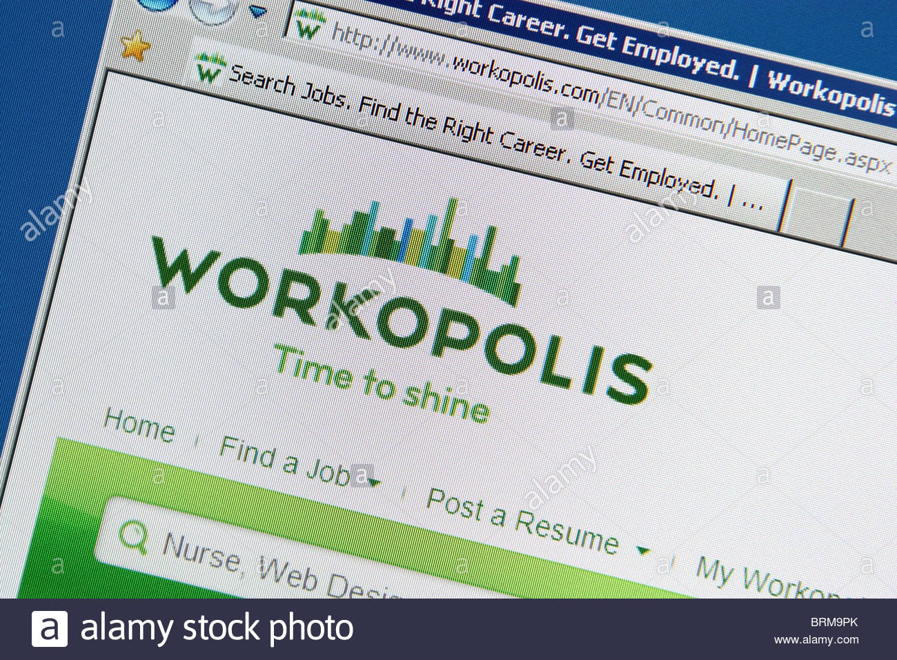 job search website workopolis stock photos images resume brm9pk roofing foreman Resume Workopolis Resume Search