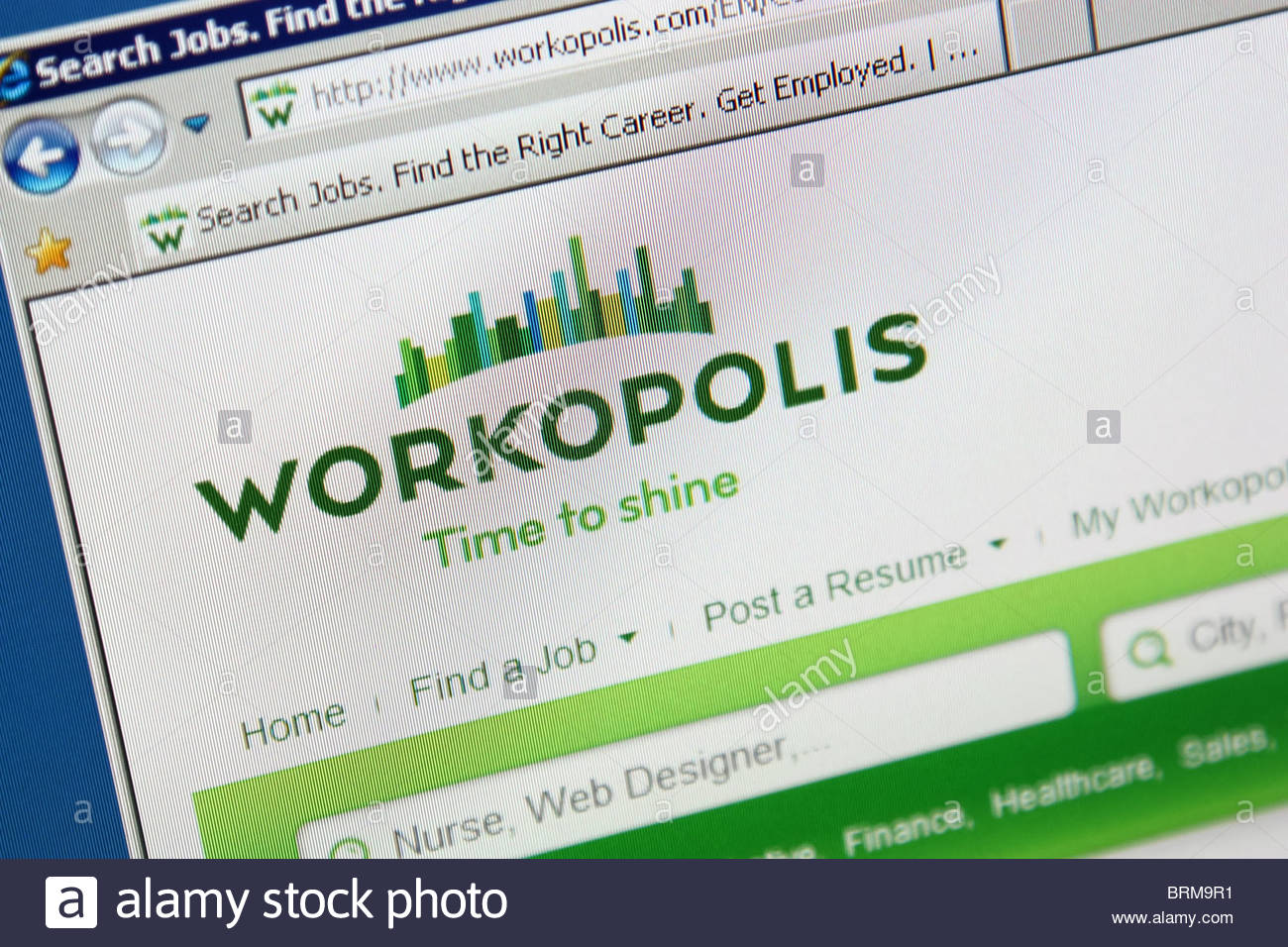 job search website workopolis stock photos images resume brm9r1 roofing foreman Resume Workopolis Resume Search