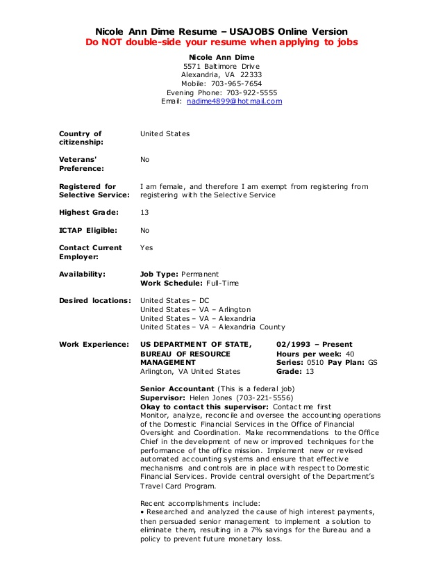 jobs resume builder example from usajobs github experience endorsement teacher Resume Download Resume From Usajobs