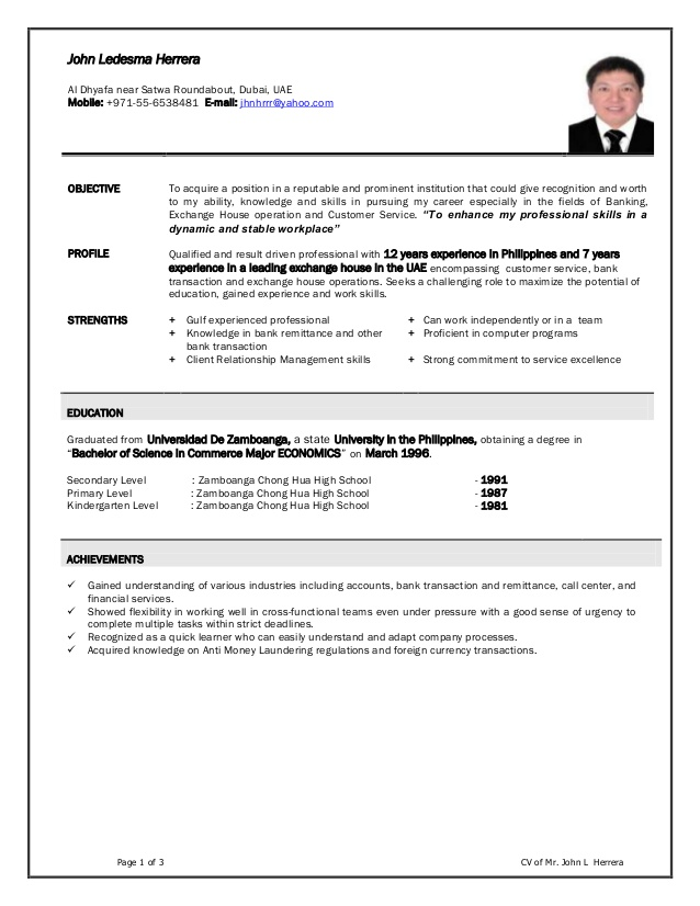 john cv new foreign exchange resume styles career need fake backstage example planet best Resume Foreign Exchange Teller Resume