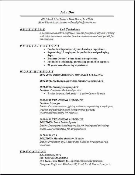 lab technician resume occupational examples samples free edit with word military job Resume Intercompany Resume Sample