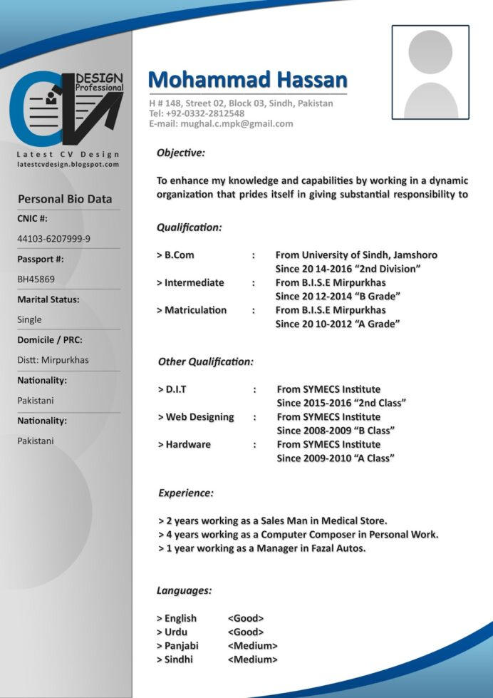 latest cv design formats free word file resume format for freshers professional technical Resume Latest Resume Format 2017 For Freshers