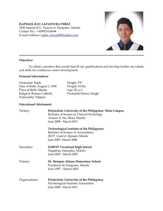 latest resume awesome sample for ojt it is well known that format job examples example of Resume Example Of Latest Resume