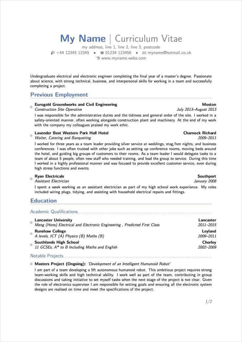 latex resume templates and cv for software engineer resumelab entry level data medical Resume Latex Software Engineer Resume