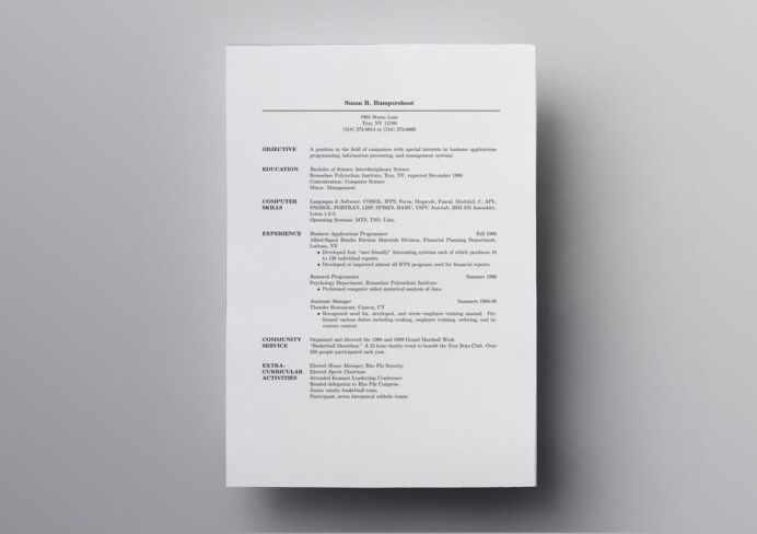 latex resume templates cv computer science template assistant bar manager multiple Resume Cesar Marcel Pagnol Resume