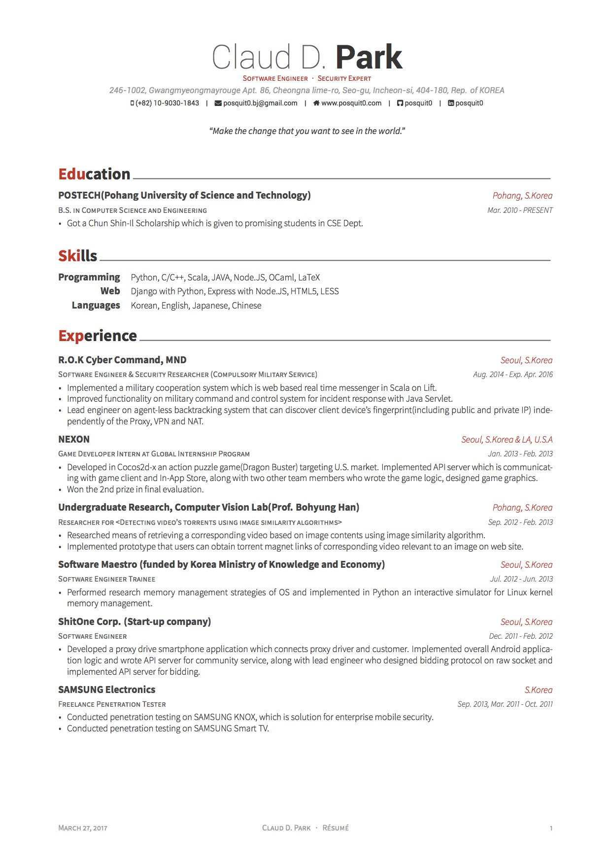 latex templates curricula vitae résumés software engineer resume cv headline tips Resume Latex Software Engineer Resume