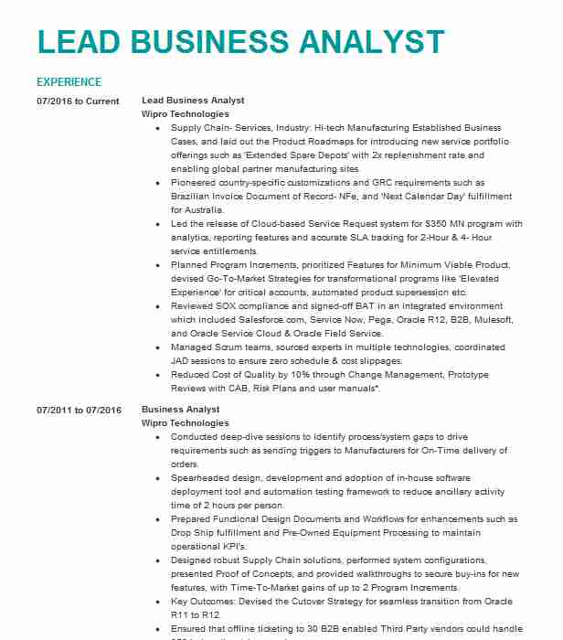 lead business analyst resume example emblemhealth cognizant technology solutions new Resume Lead Business Analyst Resume