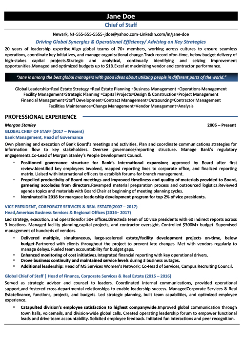 level resume chief of staff cos icareersolutions job page1 microsoft word free templates Resume Chief Of Staff Job Resume