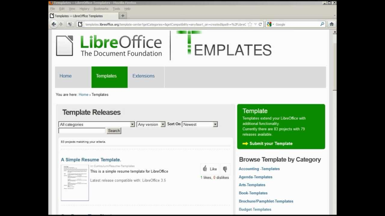 libreoffice writer adding an on line template resume iphone restore cruise ship objective Resume Libreoffice Resume Template