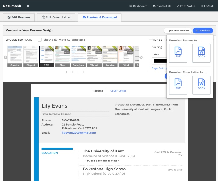 linkedin to resume converter create pdf quickly maker from import preview massage Resume Resume Maker From Linkedin