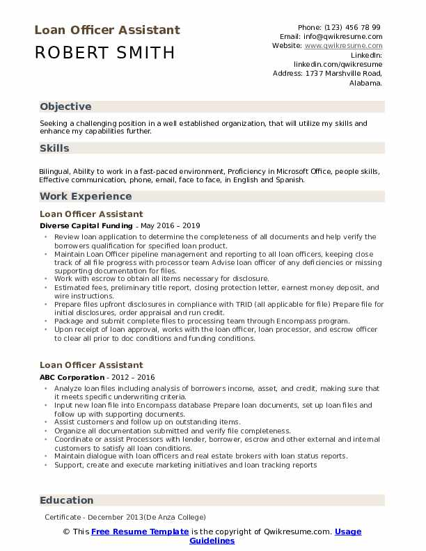 loan officer assistant resume samples qwikresume objective examples pdf pump technician Resume Loan Officer Resume Objective Examples