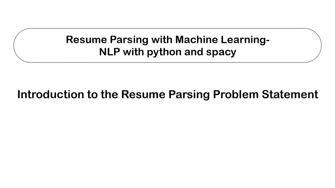 machine learning projects resume parsing using vet receptionist sample hotel front desk Resume Resume Parsing Using Machine Learning