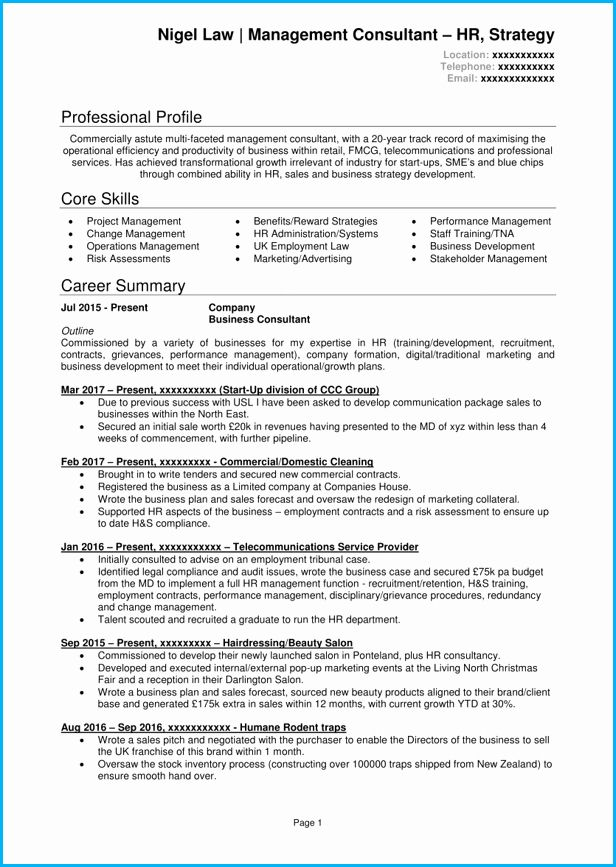 management consulting resume examples awesome consultant cv example writing guide good Resume Management Consulting Resume Examples