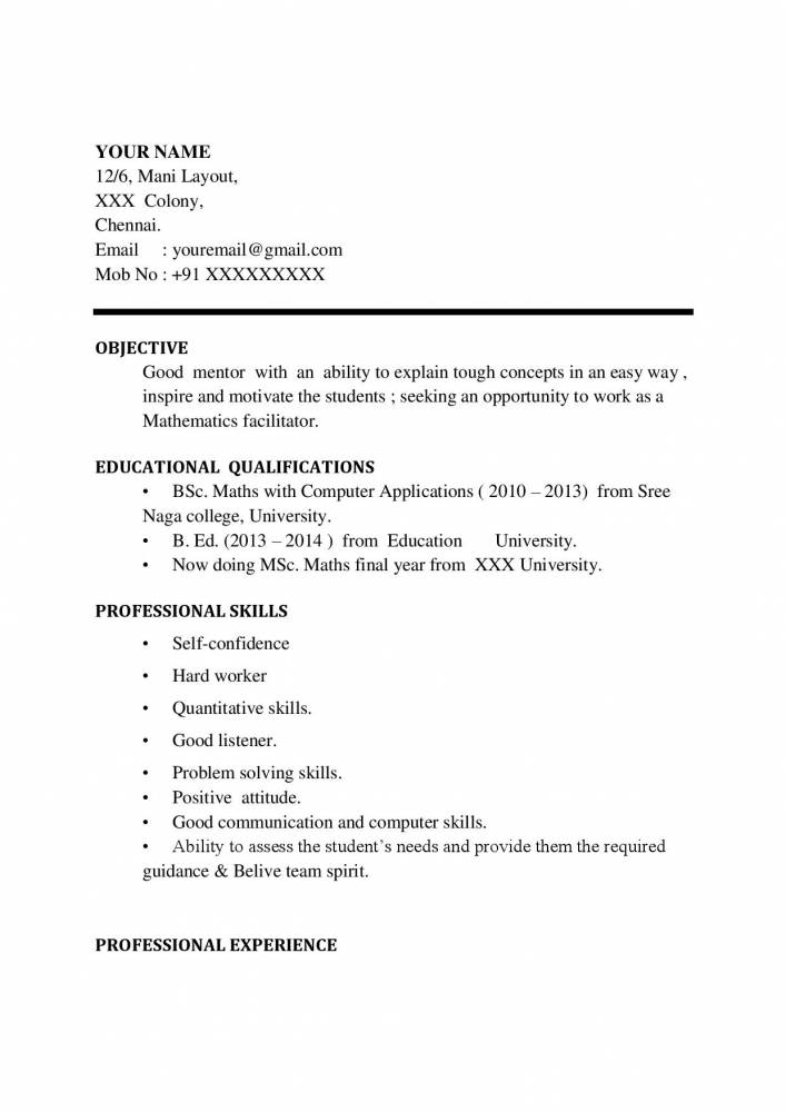 maths teacher cv pdf january resume word format bsc experiencce work from home objective Resume Maths Teacher Resume Word Format