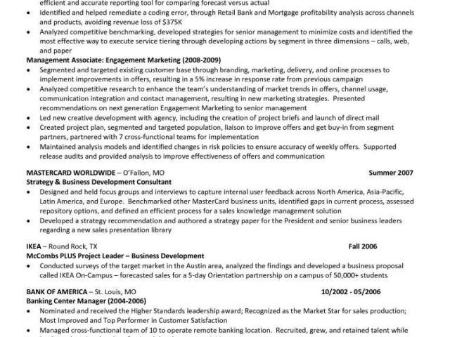 mccombs resume template forecast report or design downloadable senior business analyst Resume Mccombs Resume Template