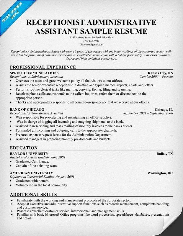 medical administrative assistant skills resume of templates free examples for tandem Resume Free Resume Examples For Administrative Assistant