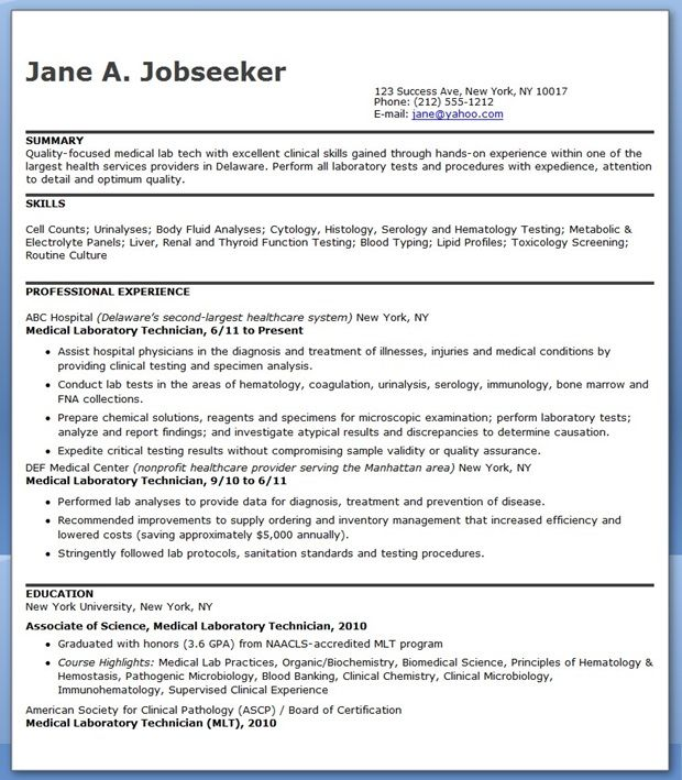 medical laboratory technician resume sample downloads lab scientist flyer strong action Resume Medical Lab Scientist Resume