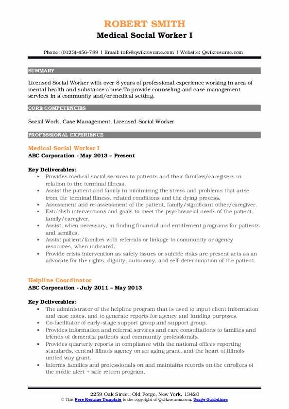 medical social worker resume samples qwikresume pdf effective design skills and abilities Resume Medical Social Worker Resume