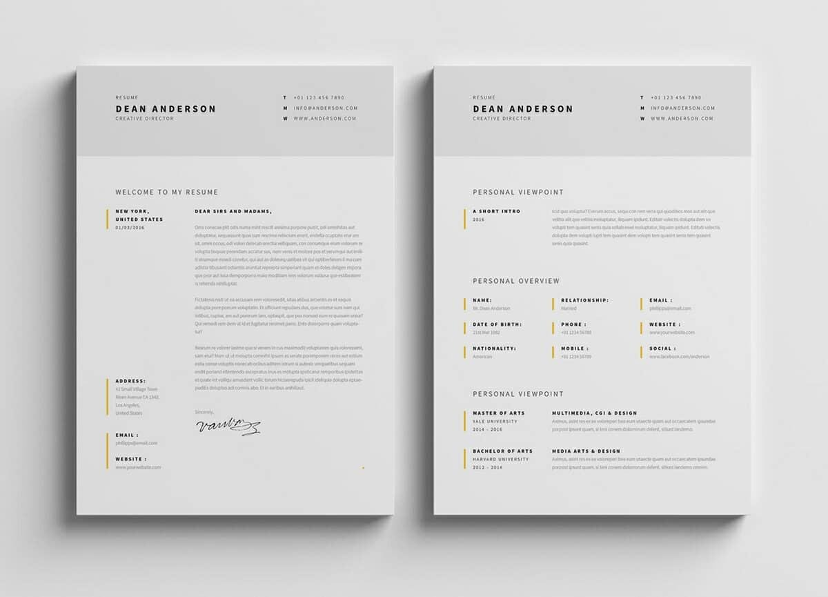 modern resume template format examples for contemporary templates quality assurance Resume Contemporary Modern Resume Template