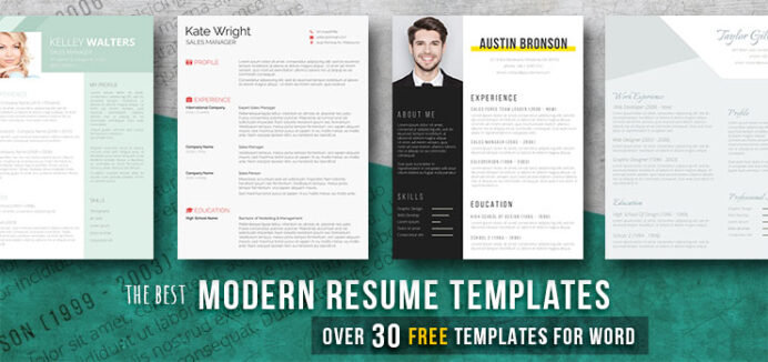 modern resume templates free examples freesumes contemporary word automation test lead Resume Contemporary Resume Templates Free Word