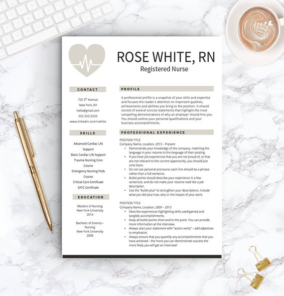 nurse resume template free cover letter etsy rn il 570xn cgq0 supply chain skills for Resume Rn Resume Template Free