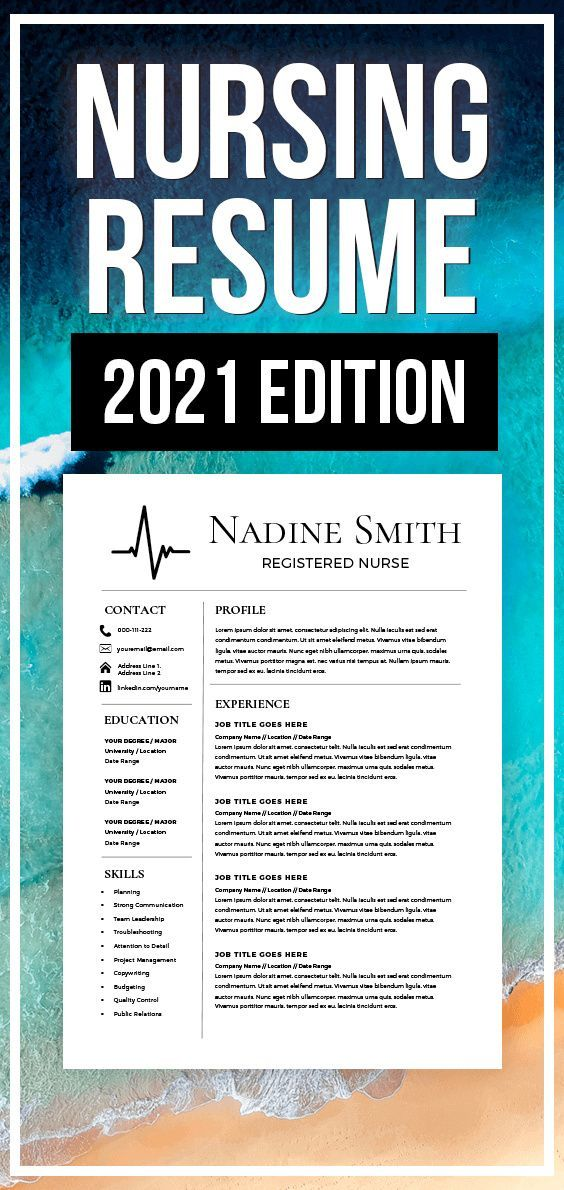 nursing resume template medical assistant nurse etsy cpa mba personal concierge objective Resume Medical Assistant Resume 2021