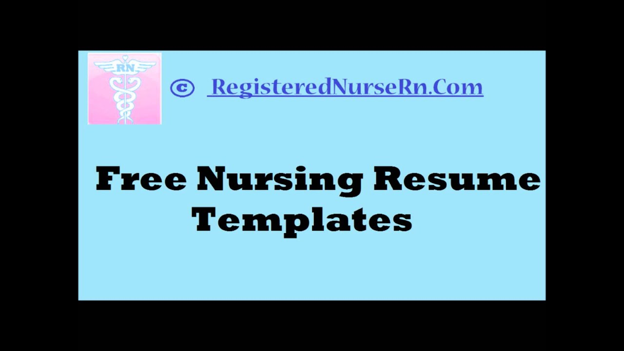 nursing resume templates free for nurses to create rn template call center analyst law Resume Rn Resume Template Free
