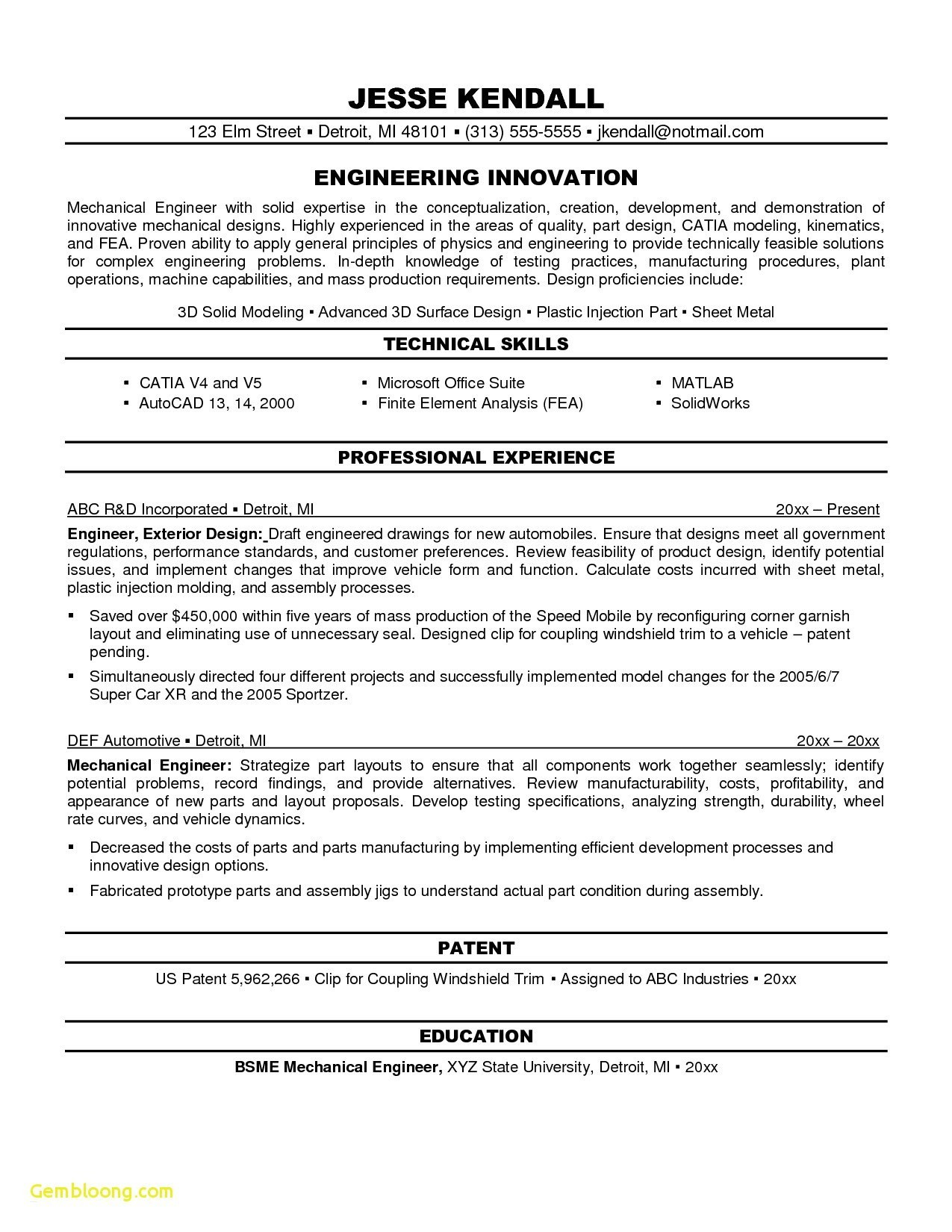 objectives for resume mechanical engineers best engineering objective examples technical Resume Objective For Technical Resume