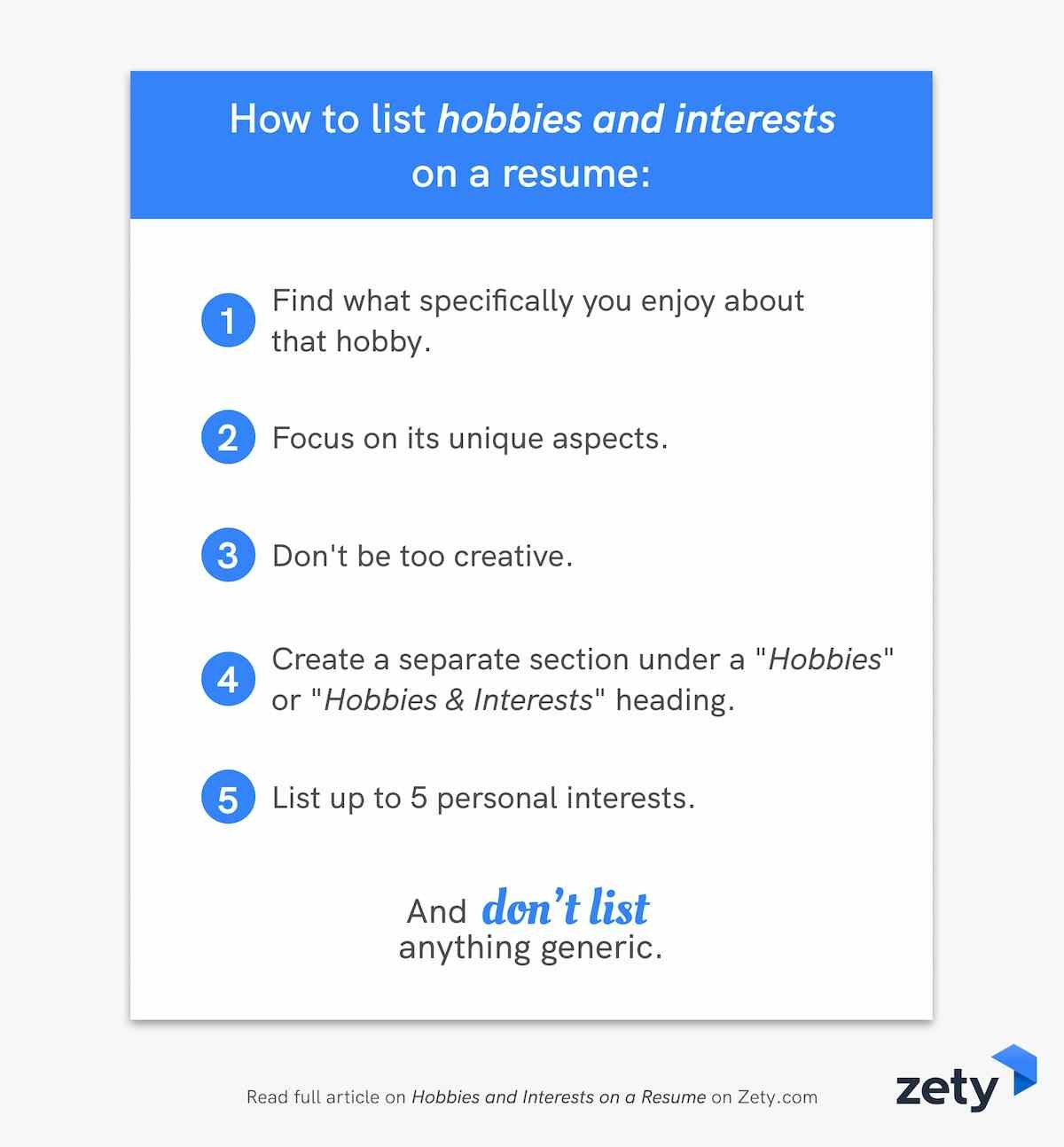 of hobbies and interests for resume cv examples should you put personal on to cover Resume Should You Put Personal Interests On Resume